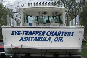 Eye Trapper Lake Erie Fishing Charter