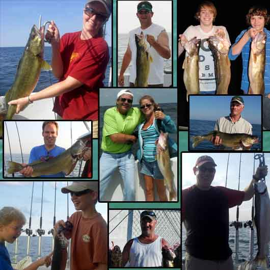 Lake erie walleye perch fishing charter mary c ii located for Best fishing in ohio