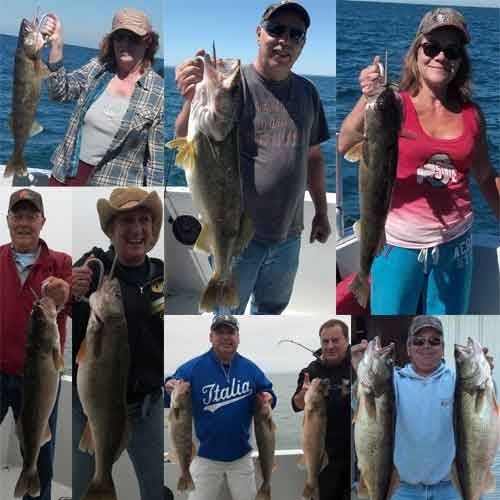Lake Erie Walleye Perch Fishing Charter Mary C Ii Located